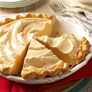 Fluffy Pumpkin Pie Recipe