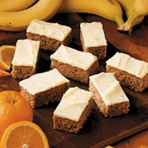 Banana Orange Bars