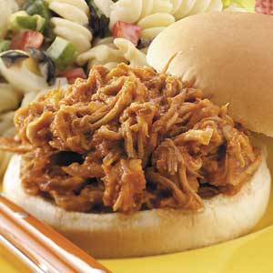 Shredded Barbecued Pork Sandwiches Recipe