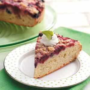 Mixed Berry Cake Recipe