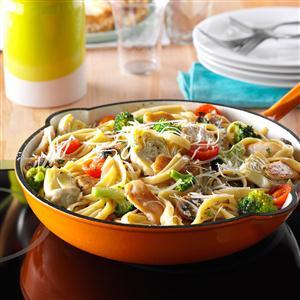 Chicken pasta recipes taste of home artichoke chicken pasta forumfinder Images