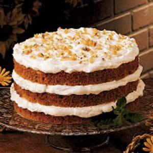 Walnut Graham Torte Recipe