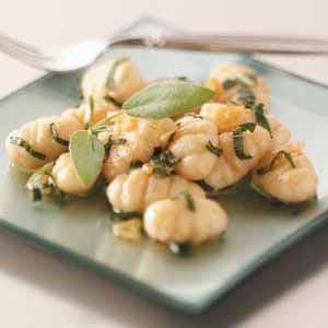Gnocchi in Sage Butter Recipe