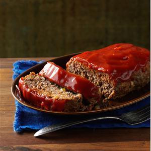 Zesty Horseradish Meat Loaf Recipe