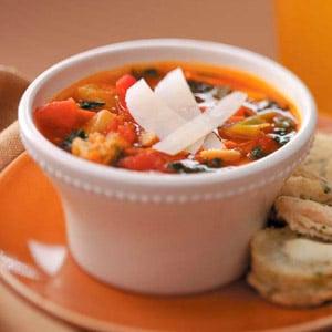Very Veggie Soup Recipe