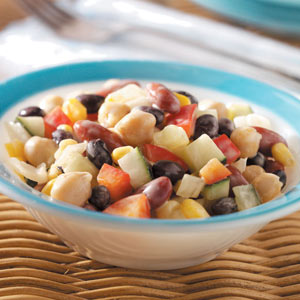 Fancy Bean Salad Recipe