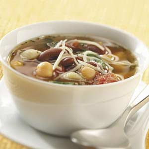 Spill-the-Beans Minestrone Recipe
