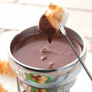 Dark Chocolate Fondue Recipe
