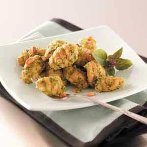 Tomato Gnocchi with Pesto Recipe