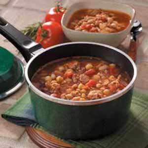 Country Sausage Soup Recipe
