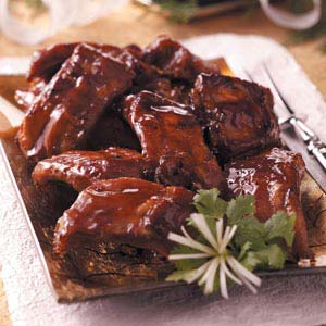 Honey Garlic Ribs Recipe