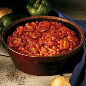 Italian Baked Beans Recipe
