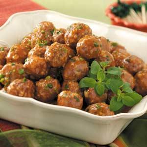 Sweet 'n' Sour Appetizer Meatballs Recipe