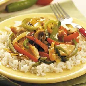 Six-Pepper Chicken Recipe