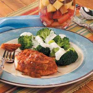 Broccoli with Lemon Sauce Recipe