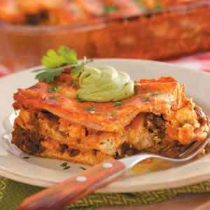 Chicken Chorizo Lasagna Recipe