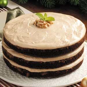Mocha Cream Torte Recipe