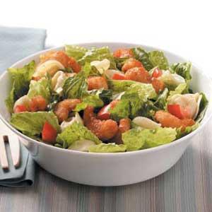Tortellini-Shrimp Caesar Salad Recipe