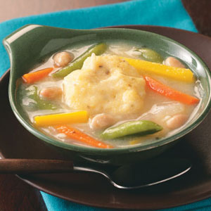 Vegetable Dumpling Soup Recipe
