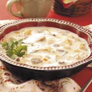 Zippy Chicken Mushroom Soup Recipe
