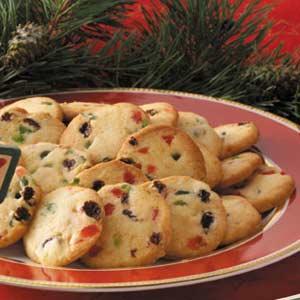 Slice 'n' Bake Fruitcake Cookies Recipe