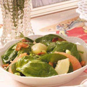 Pear Spinach Salad Recipe