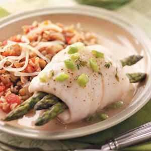 Asparagus Fish Bundles Recipe