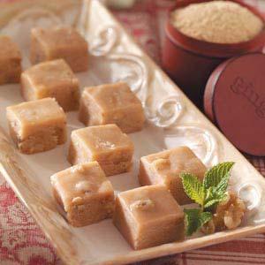Maple Ginger Fudge Recipe