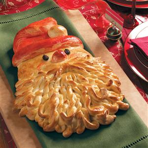 How to Make Santa Bread