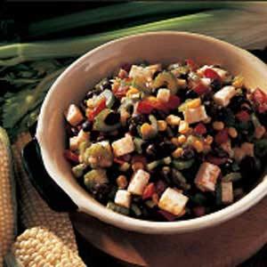Quick Black Bean and Corn Salad Recipe