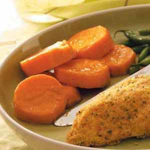 Fresh Sweet Potatoes Recipe