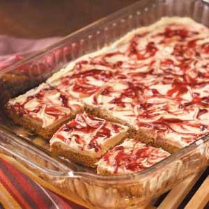 Peanut Butter 'n' Jelly Bars Recipe