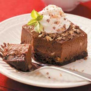 Special Pleasure Chocolate Cheesecake Recipe
