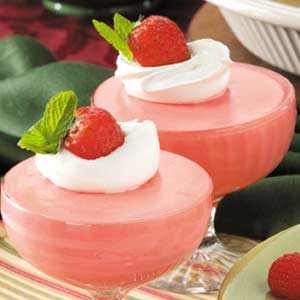 Strawberry Malted Mousse Cups Recipe