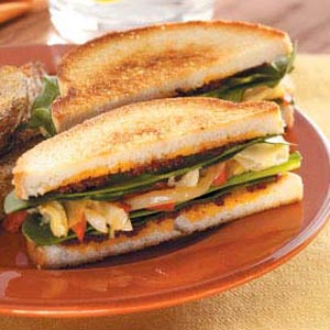 Toasted Artichoke Sandwiches Recipe