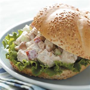 Cashew Chicken Salad Sandwiches Recipe