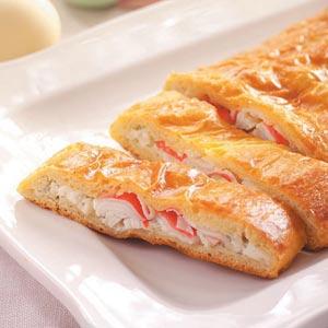 Crab Crescent Loaf Recipe