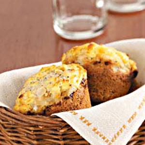 Savory Onion Muffins Recipe