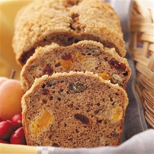 Streusel Fruit Bread Recipe