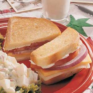 Three-Cheese Grilled Cheese Recipe