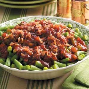 Barbecue Green Bean Bake Recipe
