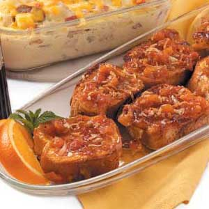 Apricot-Coconut French Toast Recipe