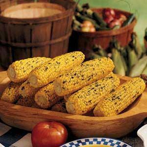 Herb-Buttered Corn Recipe