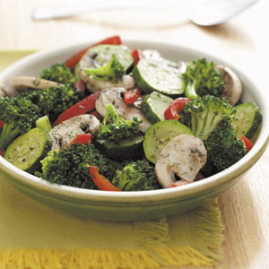 Dilly Grilled Veggies Recipe