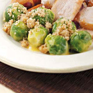 Cheesy Brussels Sprouts Recipe