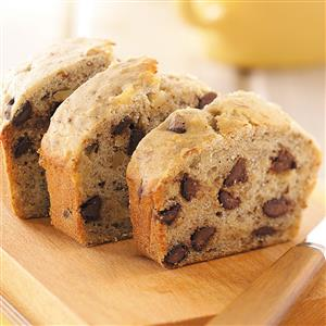 Banana-Chip Nut Bread Recipe