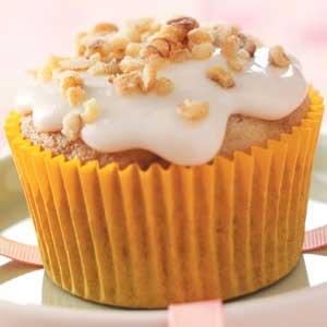 Walnut Banana Cupcakes Recipe
