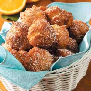 Orlando Orange Fritters Recipe