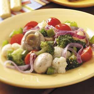 Italian Grilled Veggies Recipe