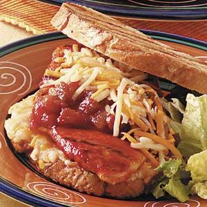 Mexican Chicken Sandwiches Recipe
